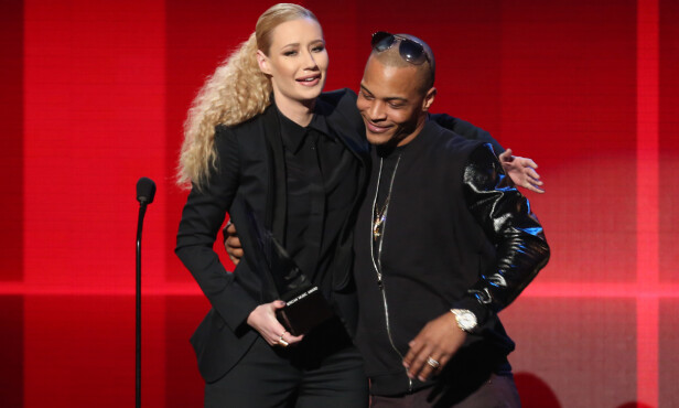 SER RØDT: Rapper Iggy Azalea langer ut mot sin tidligere mentor T.I. De to gikk hvert til sitt i 2015. FOTO: NTB scanpix