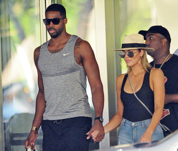 BRUDD: Etter flere utroskapsskandaler var det i februar over for Khloé Kardashian og Tristian Thompson. NTB scanpix