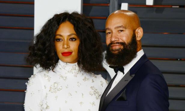 BRUDD: Fem år etter at Solange Knowles og Alan Ferguson giftet seg i New Orleans har paret valgt å ta ut skilsmisse. FOTO: NTB scanpix