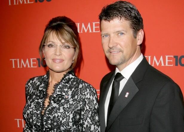 <strong>BRUDD:</strong> Etter 31 års ekteskap og fem barn tok ekteskapet mellom politikeren Sarah Palin og Todd Palin slutt denne høsten. FOTO: NTB scanpix