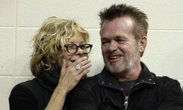 BRUDD: Til tross for at de ble forlovet i fjor, ønsket ikke musikeren John Mellencamp å gifte seg med kjæresten Meg Ryan likevel. Bruddet ble kjent i januar. FOTO: NTB scanpix