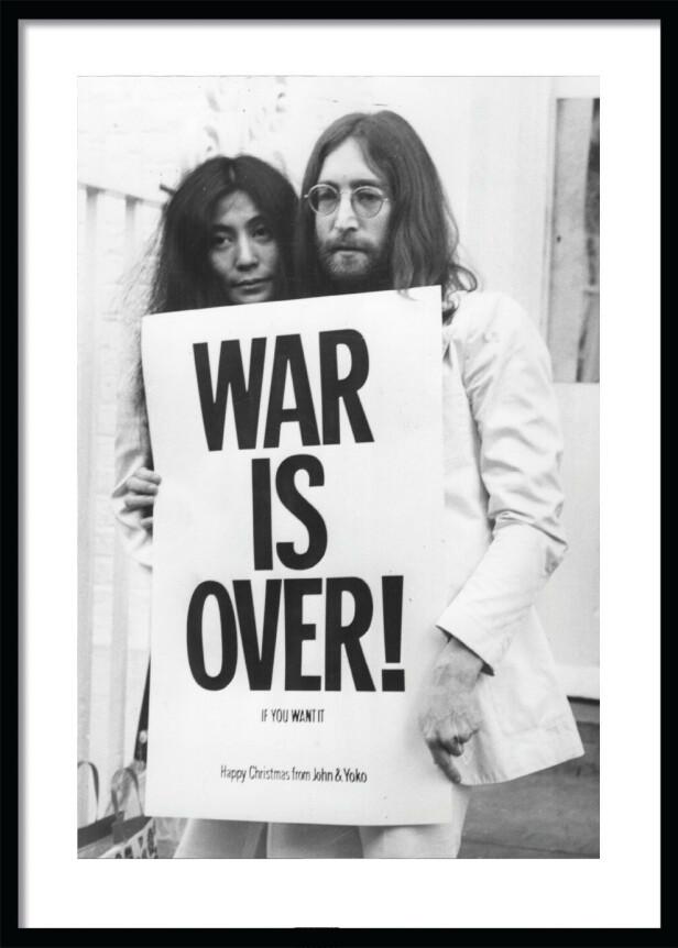 John og Yoko-plakat (fra kr 170, Desenio). FOTO: Produsenten