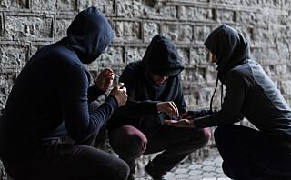 Politiet melder om at ungdom helt ned i 15-årsalderen bruker kokain