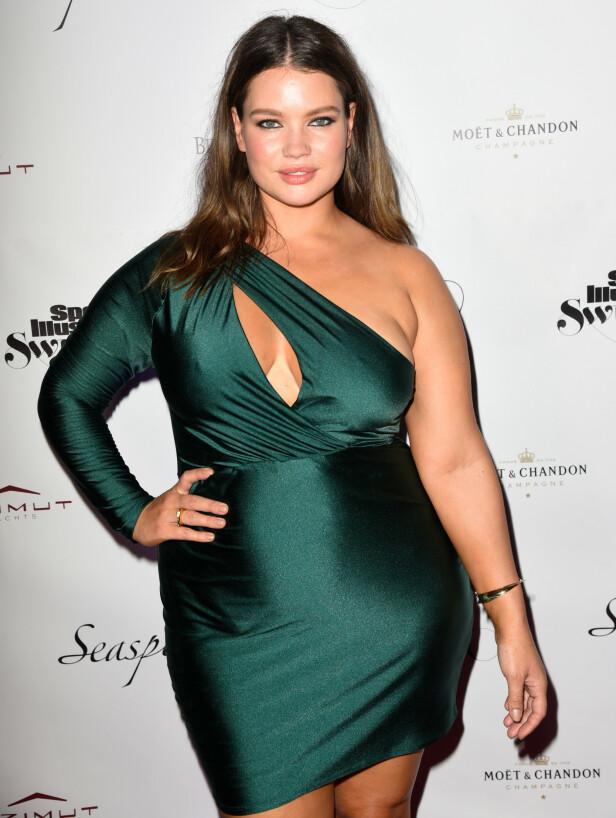 HOT: Supermodell Tara Lynn har jobbet som modell i over 12 år. Her fra en Sports Illustrated -tilstelning våren 2019. FOTO: NTB scanpix