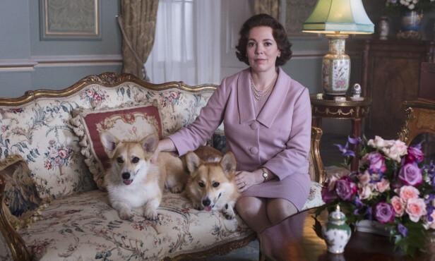 NY SKUESPILLER: Det er den britiske skuespilleren Olivia Coleman som har fått rollen som dronning Elizabeth i sesong 3 av The Crown. FOTO: Netflix