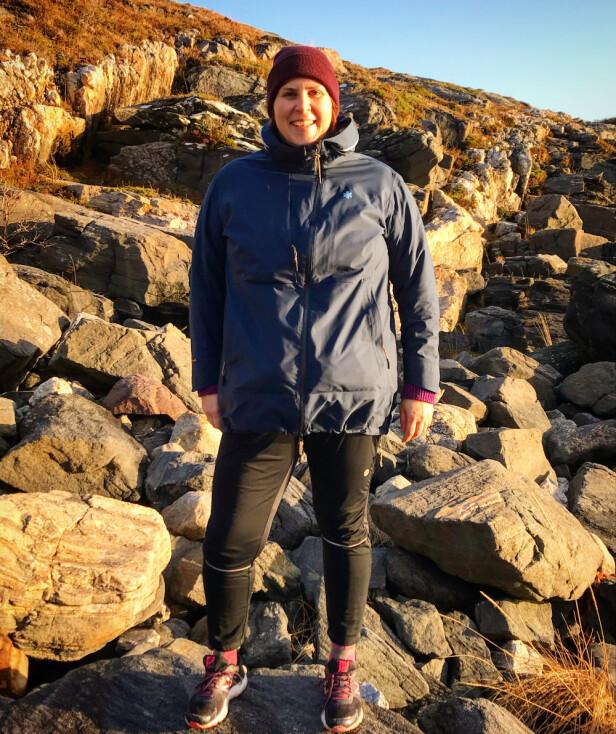 RETT UT: Kortreist trim, kaller Nina det når hun tar seg en tur i naturen utenfor stuedøra. FOTO: Privat