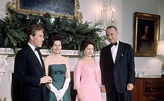 Stemmer detaljene rundt møtet mellom prinsesse Margaret og president Johnson?