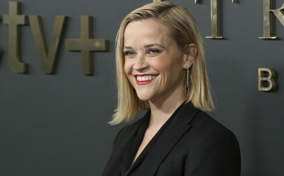 AKTUELL: Reese Witherspoon er nå aktuell med tv-programmet «The Morning Show» sammen med sin tidligere «Friends»-kollega Jennifer Aniston. FOTO: NTB Scanpix