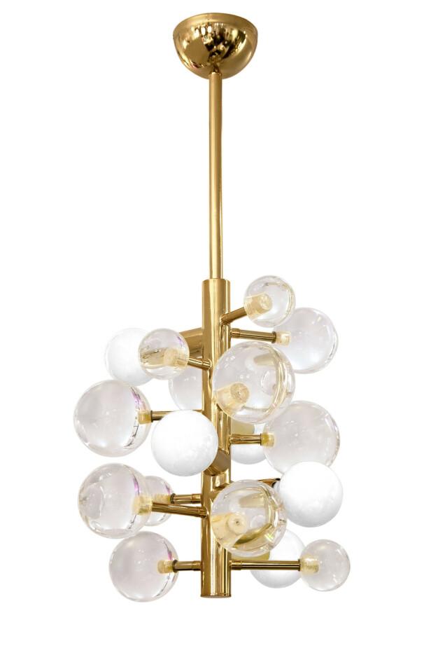 Til luksusdyret! Lampe (kr 18 950, Jonathan Adler). FOTO: Produsenten