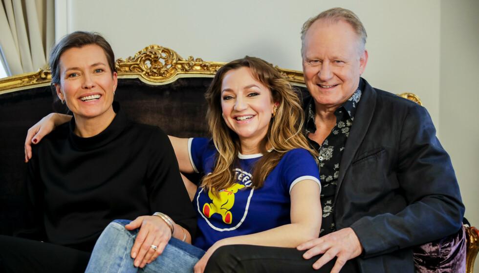 SPILLEFILM: Med seg på laget har regissør Maria Sødahl fått med seg skuespillerne Andrea Bræin Hovig og Stellan Skarsgård. FOTO: NTB scanpix