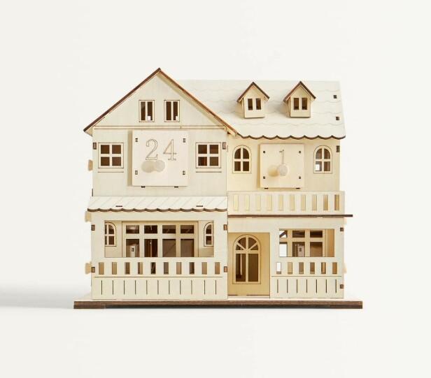 Adventskalenderhus fra Zara Home, kr 550