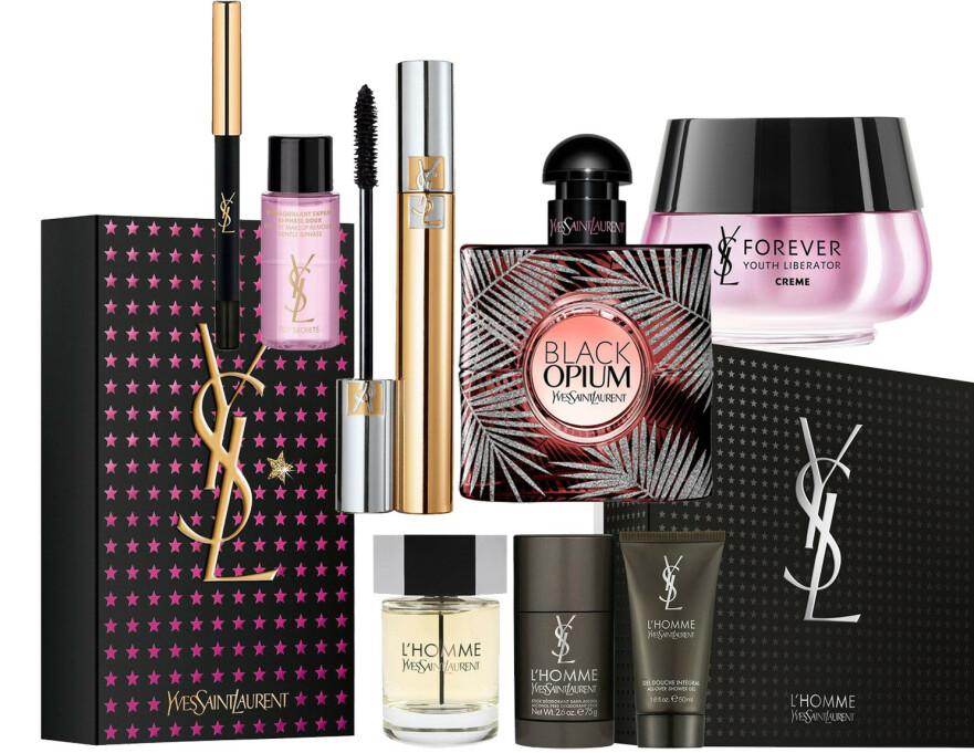MÅNEDENS PRODUKT: Denne måneden får du 30 prosent på utvalgte Yves Saint Laurent produkter. FOTO: Produsentene
