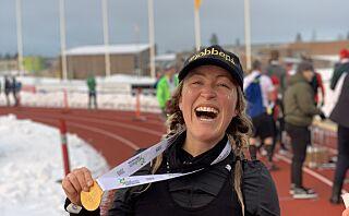 Gravide Farmen-Stine løp maraton: - Ble kalt barnemorder