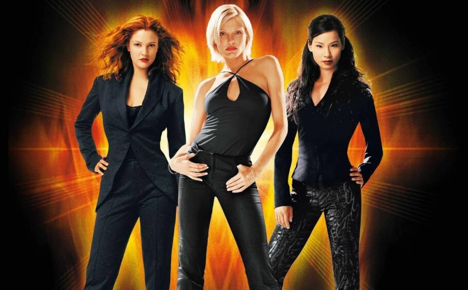 BLIR 20 ÅR: I 2000 kom Charlie's Angels med Drew Barrymore, Cameron Diaz og Lucy Liu i hovedrollene ut. Foto: Charlie's Angels