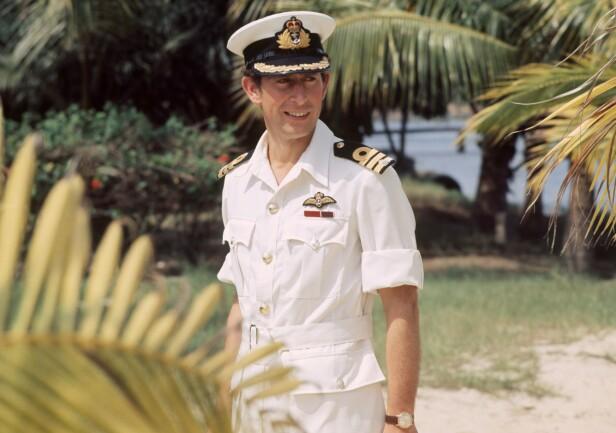 HÆREN FLØTTE MEG: Charles ble stasjonert i tropene på 70-tallet Da han kom hjem hadde Camilla forlovet seg med Andrew Parker Bowles. FOTO: NTBScanpix