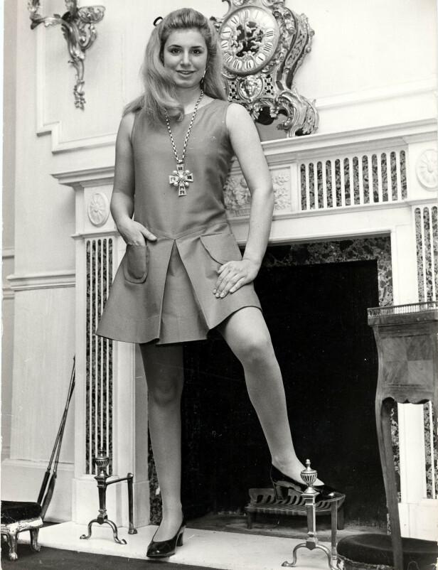 EKSEN TIL PRINSEN: Georgiana Russell, datter av den britiske ambassadøren Sir John Russell, var prins Charles' gamlekjæreste. Hun ble senere Lady Brooke Boothby. FOOTO: NTBScanpix.