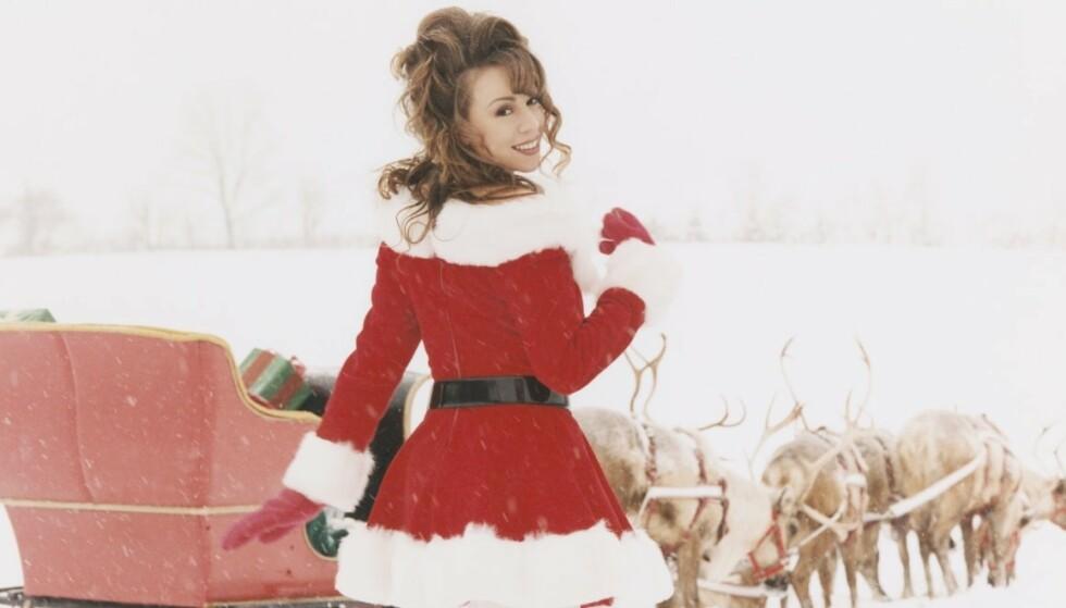 TOPPER LISTEN: Det er ellevilt hvor mye vi har hørt på Mariah Careys «All I Want For Christmas Is You»!