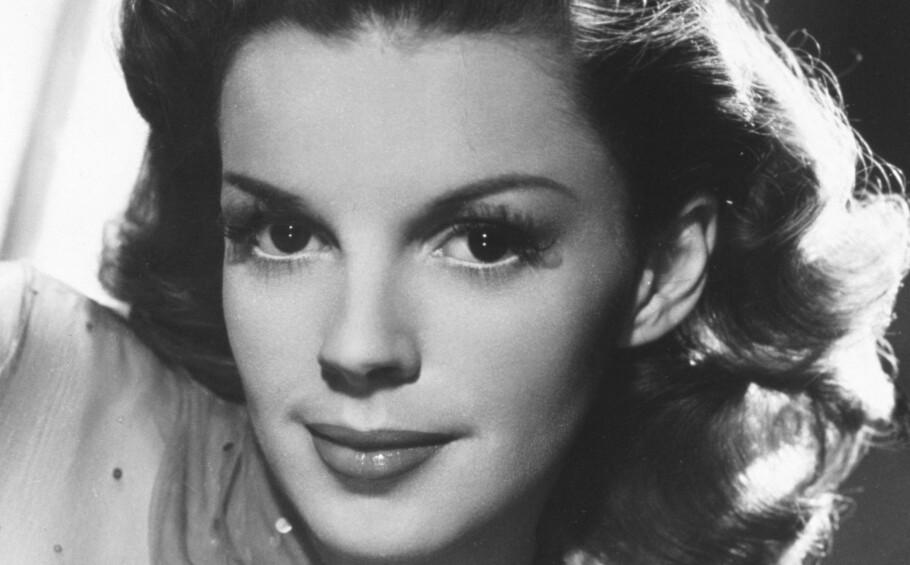 Alle Judy Garlands fem ekteskap var enten korte eller ulykkelige – eller begge deler. Da dette bildet ble tatt, var hun 25 år gammel og inne i sitt andre ekteskap. FOTO: NTBScanpix