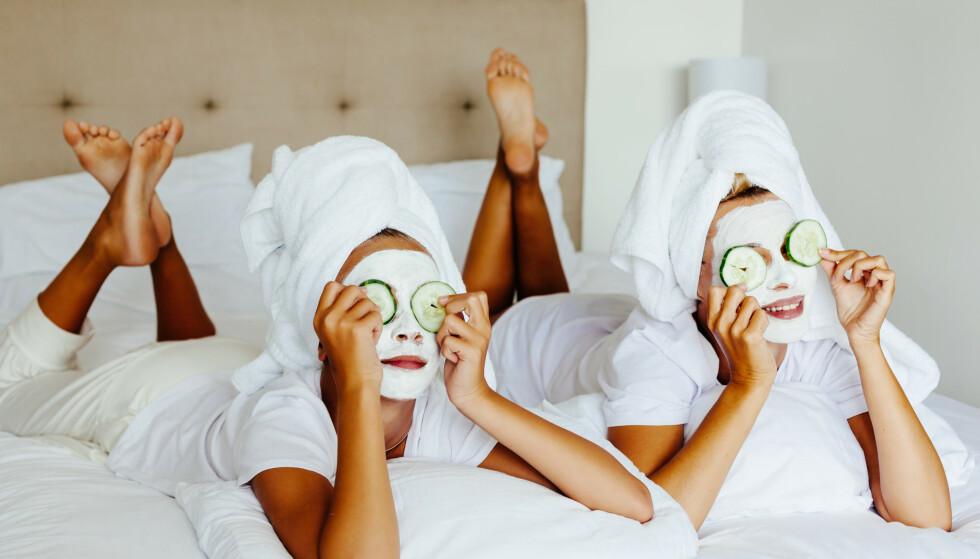 JULEGAVETIPS: En deilig ansiktsmaske er ikke dumt! Foto: NTB Scanpix