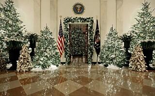 Melania Trump håper årets julepynt slå bedre an enn fjorårets