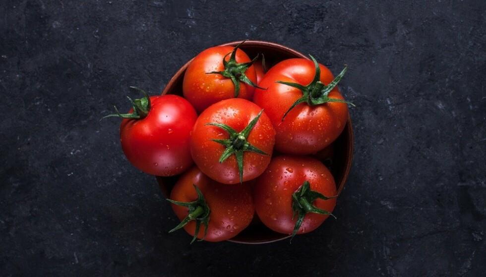 SUNT: Både friske og behandlede tomater inneholder mange gode næringsstoffer. FOTO: NTB Scanpix
