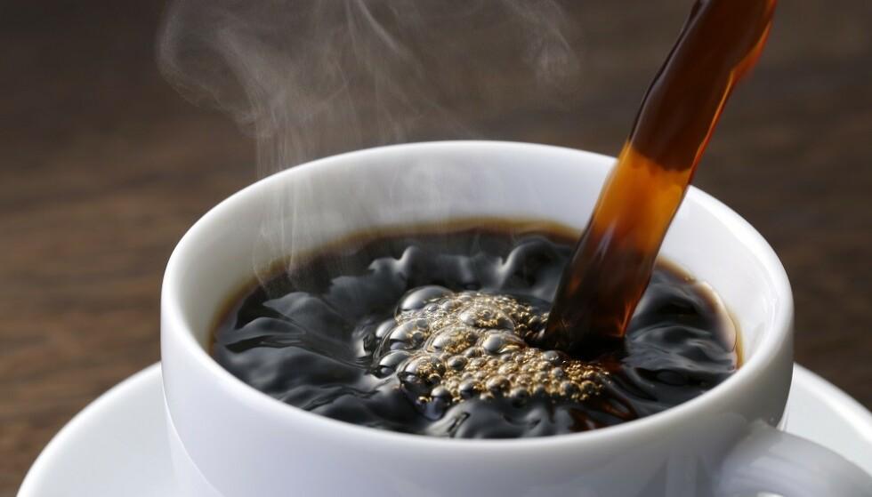 KOFFEIN: En kopp kaffe vil ikke gjøre deg mer edru. FOTO: Scanpix