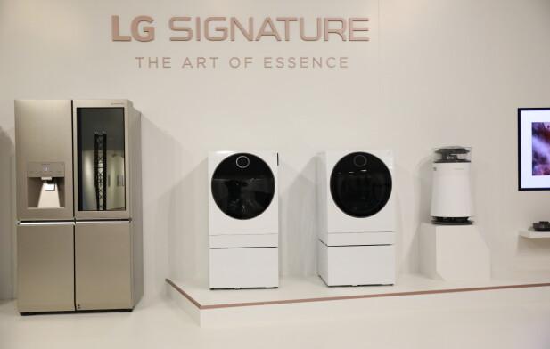 LG SIGNATURE består av produkter som kombinerer design og funksjon.