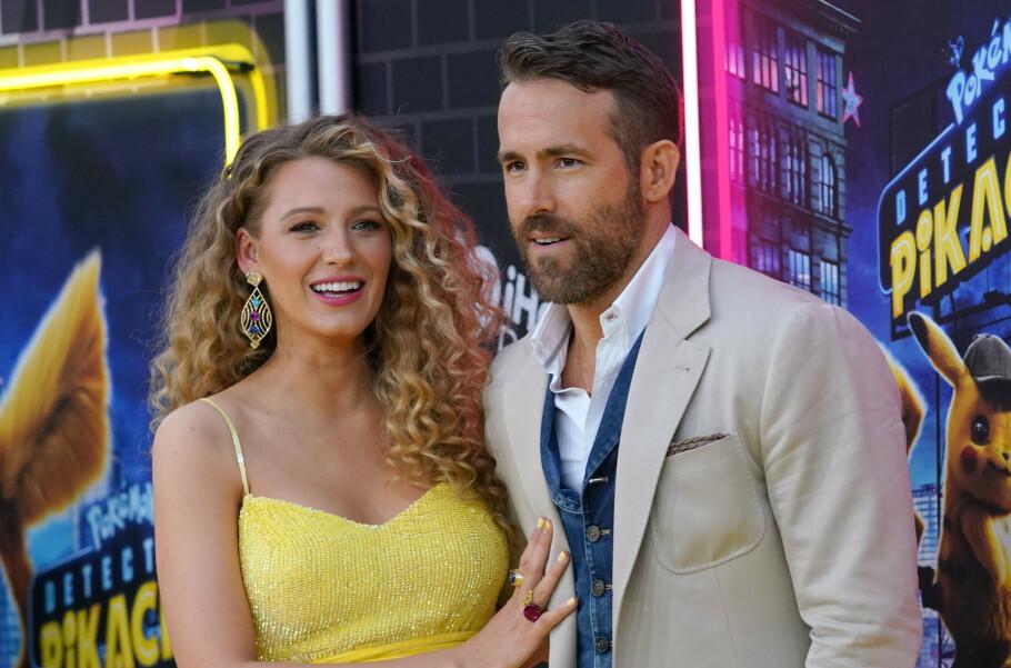 VIELSE PÅ SLAVEPLANTASJE: Det viser seg nå at stjerneparet Blake Lively og Ryan Reynolds giftet seg på en tidligere slaveplantasje i 2012. FOTO: NTB Scanpix