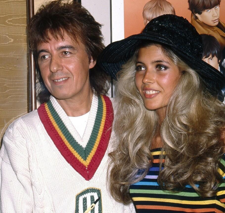 BARNEROV: Mens andre 14-åringer sto til konfirmasjon, var Mandy Smith sammen med bassisten i Rolling Stones, Bill Wyman, som da var 47. FOTO: NTBScanpix.