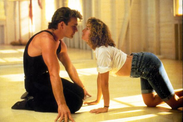 HOT: Det er ingenting å utsette på kjemien mellom badboyen Johnny Castle og rikmannsjenta Baby i filmen Dirty Dancing. FOTO: NTB scanpix