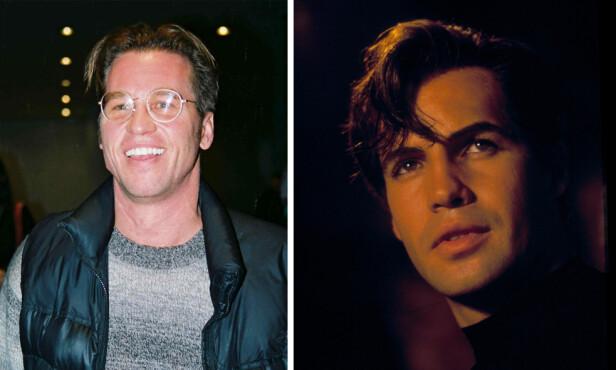 AKTUELLE: Val Kilmer og Billy Zane (t.h.) ble vurdert i rollen som Johnny Castle. Val Kilmer takket nei, mens Billy Zane ikke ble med videre etter audtion. FOTO: NTB scanpix