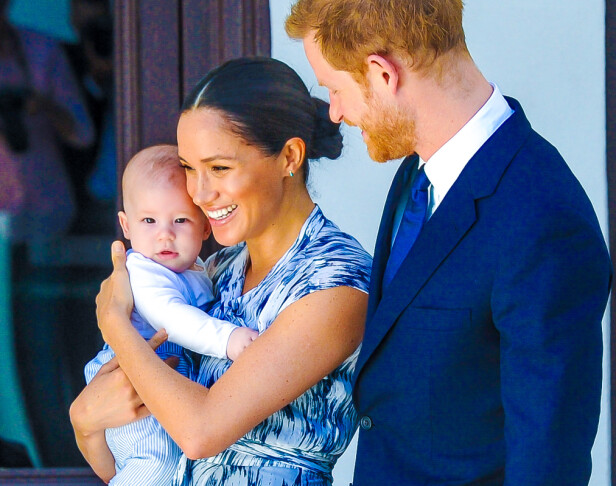 OPP- OG NEDTURER: Hertuginne Meghan og prins Harry i Sør-Afrika høsten 2019. Det var første gang de hadde med seg sønnen Archie på offisielt utenlandsoppdrag. FOTO: NTB scanpix