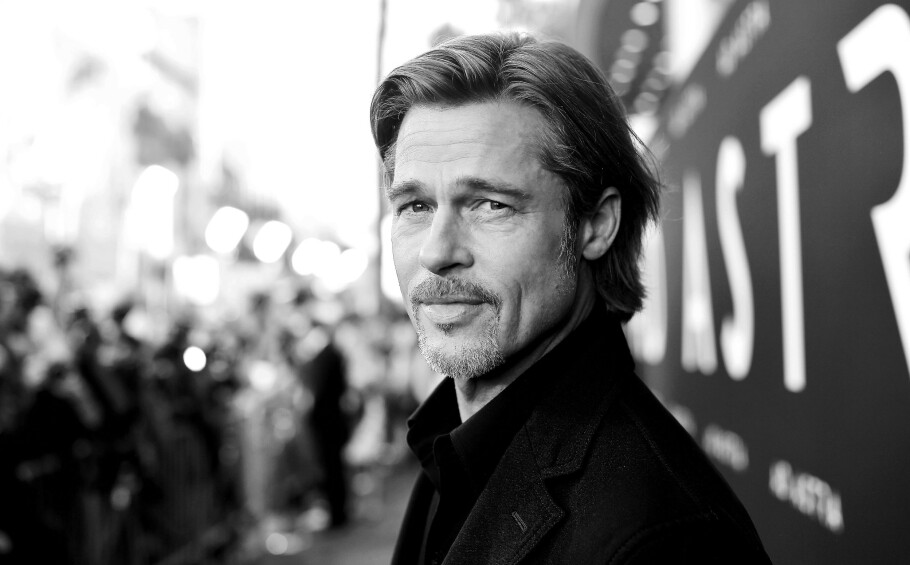 ÅPENHJERTIG: Skuespiller Brad Pitt deler detaljer fra privatlivet i stort intervju med magasinet Interview. FOTO: NTB scanpix