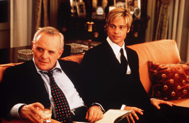 HOLLYWOOD: I 1998 spilte de på nytt sammen - da i filmen Meet Joe Black. FOTO: NTB scanpix