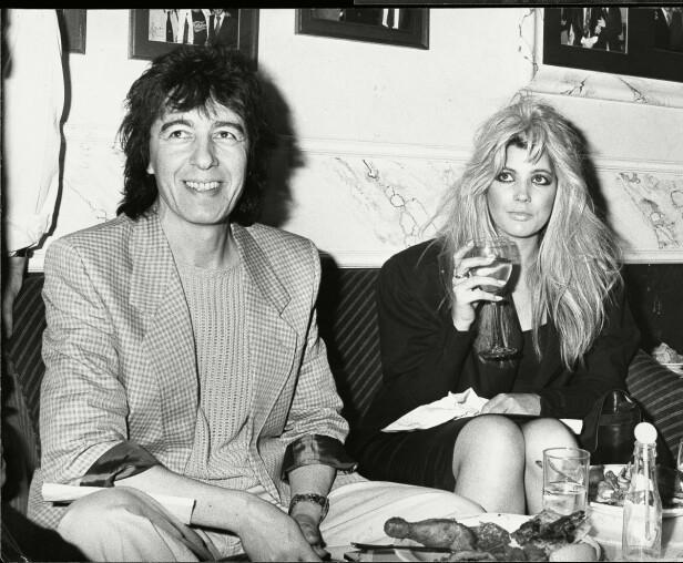 ALDERSFORSKJELL: Bill Wyman og Mandy Smith i 1986. Hun var 16 år og han en mann på 50. Da hadde de allerede vært sammen i tre år. FOTO: NTBScanpix.