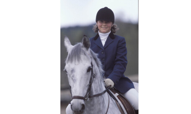 HEST ER BEST: Prinsesse Märtha Louise på hesteryggen i 1984. FOTO: NTB scanpix