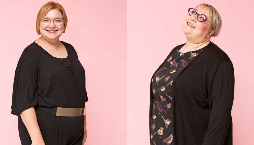 PUDDERDÅSERNE: Katja Moikjær (40) og Helene Randløv (43) står bak den kjente danske beautybloggen Pudderdåserne.