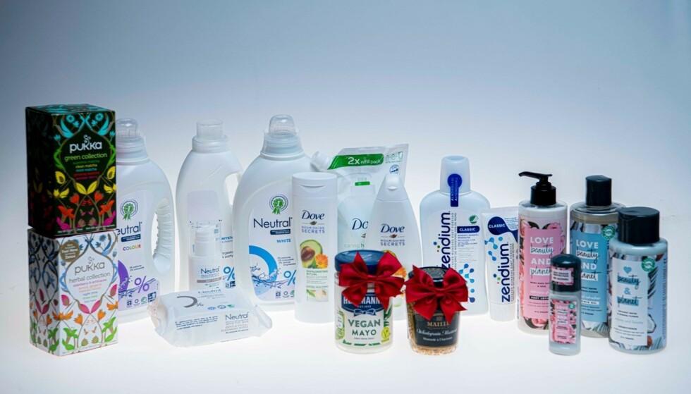 Vinn goodiebag fra dagligvareleverandøren Unilever.