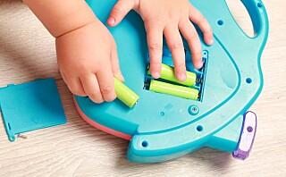 Hvor mange batterier har du på barnerommet?