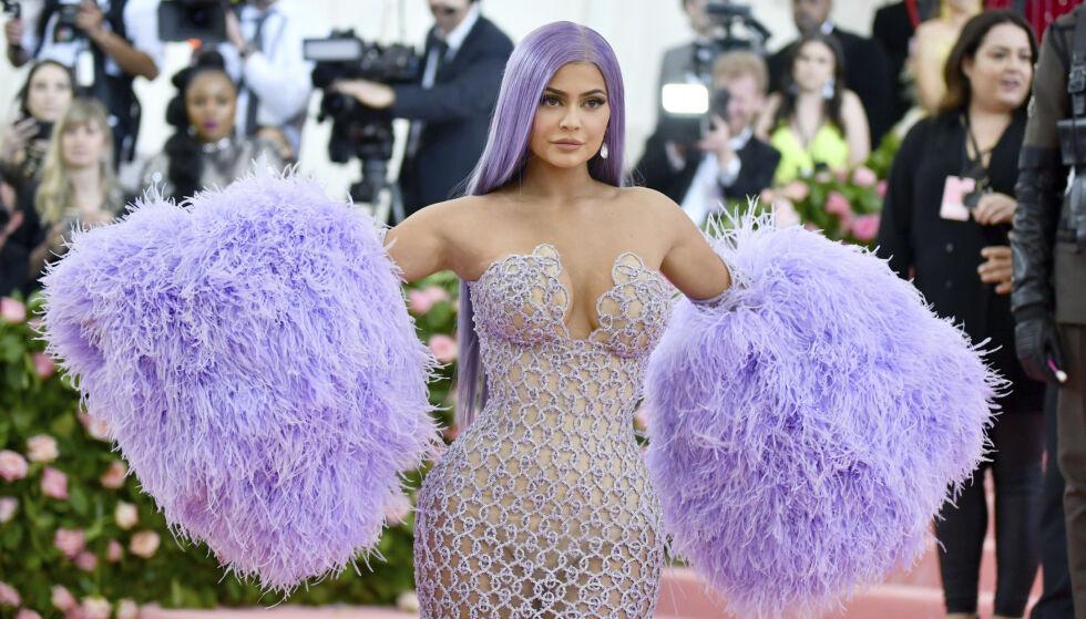 KYLIE JENNER: Businesskvinnen og realitystjernen tjener store penger på Instagram. Foto: NTB Scanpix