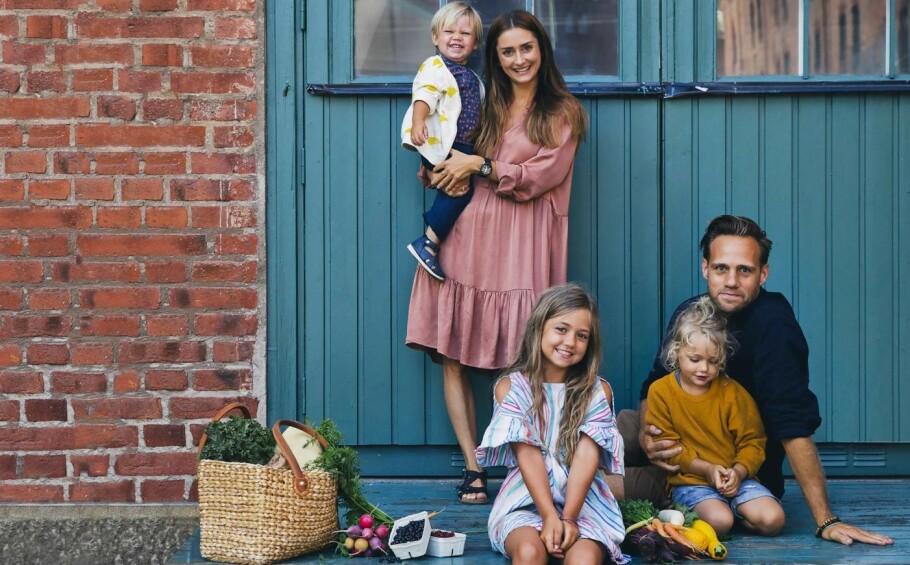 GREEN KITCHEN STORIES: Samtidig med at bloggen deres har vokst og utviklet seg, har familien gjort det samme. FOTO: Johanna Frenkel og David Frenkiel