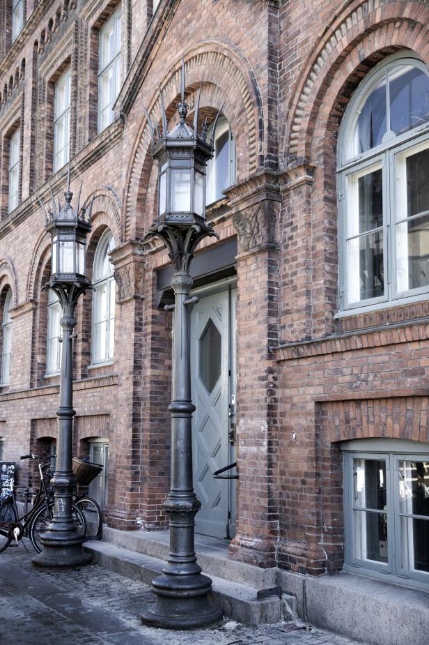 Leiligheten til Cecilie og Malte ligger sentralt i København. FOTO: Tia Borgsmidt