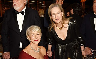 Meryl Streep måtte fikse kjolen til Helen Mirren