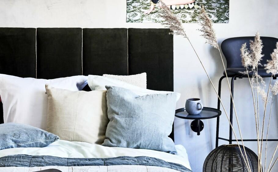 SENGEGAVL: Tips! Vil du gi soverommet et japanske preg, velger du en lav seng, eller legg madrassen rett på gulvet. FOTO: Martin Panduro