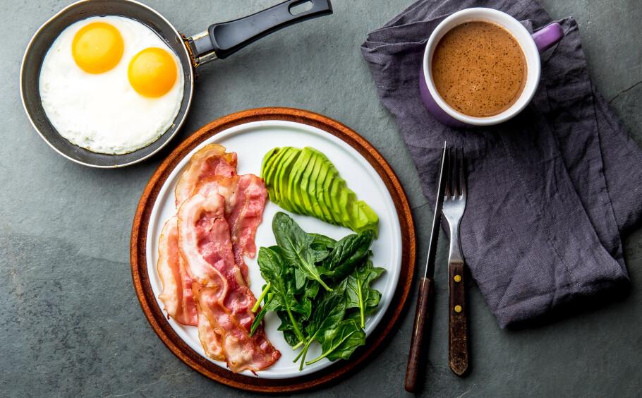 KETO-DIETT: Å spise fett for å forbrenne fett hørest jo...vel, fett ut. Men har det noe for seg? FOTO: NTB Scanpix