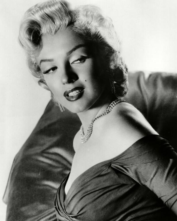 50-TALLET: Marilyn Monroe var stor på 50-tallet, og håret hennes var ikonisk. Foto: NTB