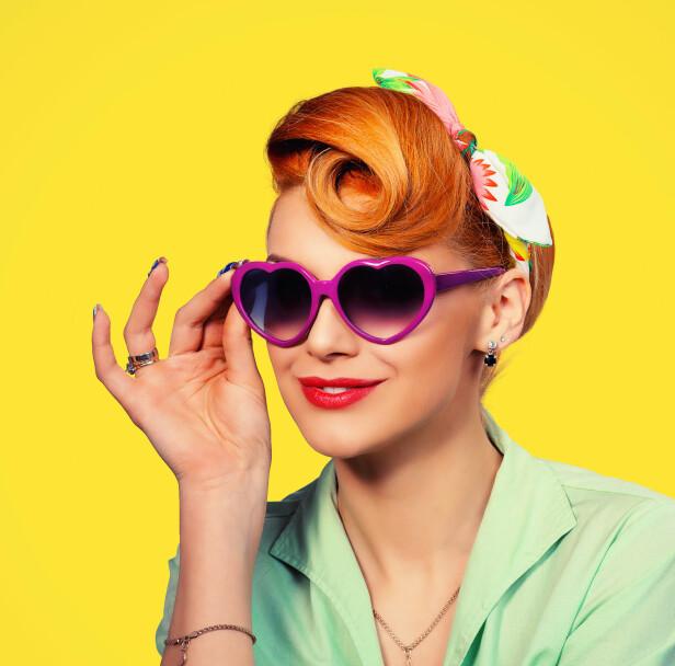 60-TALLET: «Pin-up»-frisyrer i mange forskjellige variasjoner ble en hit, både i kortere og lengre versjoner. Foto: NTB