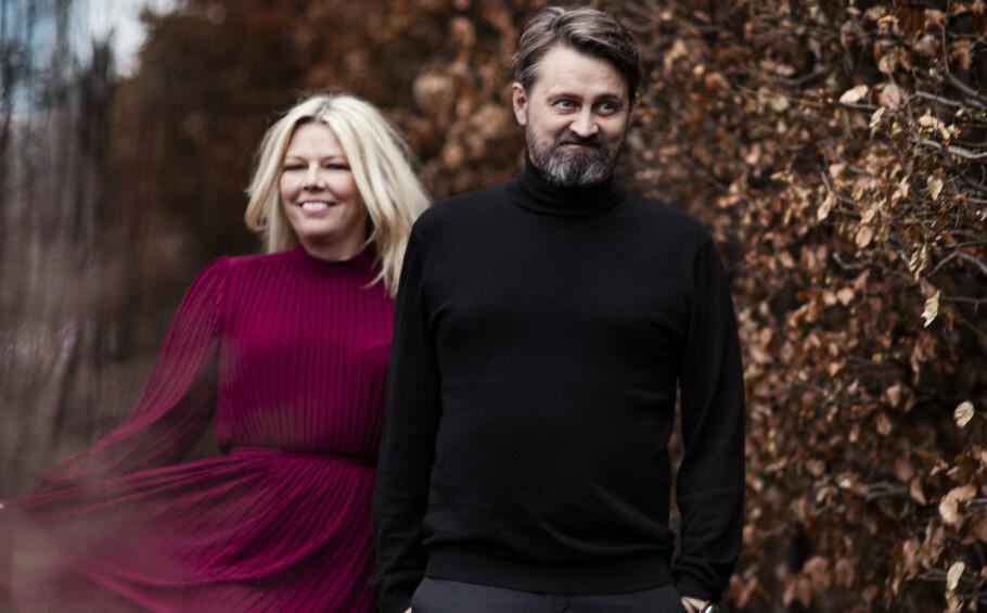 ROLLESPILL: Annette Walther Numme og Thomas Numme innledet forholdet med en romantisk lek. Siden har rollene fulgt dem gjennom livet. FOTO: Astrid Waller