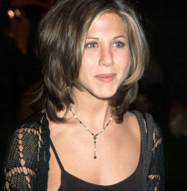 90-TALLET: Jennifer Aniston med «The Rachel» - en av de mest etterspurte frisyrene på 90-tallet. Foto: NTB