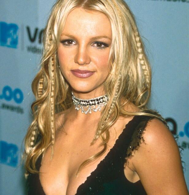 2000-TALLET: Britney Spears var en av tiårets største pop-stjerner, og var alltid på plass med de siste trendene. Foto: NTB Scanpix
